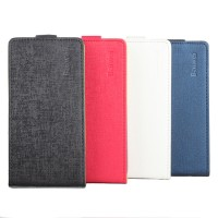 Текстурный чехол вертикальная книжка на силиконовой основе на магнитной защелке для Huawei Honor 8