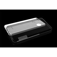 Силиконовый матовый полупрозрачный чехол с улучшенной защитой элементов корпуса (заглушки) для Huawei Honor 8  Серый