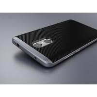 Противоударный двухкомпонентный силиконовый матовый непрозрачный чехол с поликарбонатными вставками экстрим защиты с текстурным покрытием Металлик для Xiaomi RedMi Pro  Серый