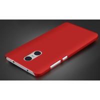 Пластиковый непрозрачный матовый чехол для Xiaomi RedMi Pro Красный