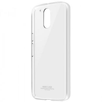 Пластиковый транспарентный чехол для Lenovo Moto G4