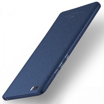 Пластиковый непрозрачный матовый чехол с повышенной шероховатостью для Xiaomi Mi Note