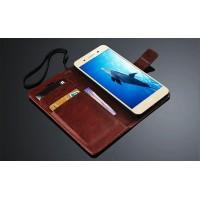 Глянцевый чехол портмоне подставка на пластиковой основе на магнитной защелке для Xiaomi Mi Note