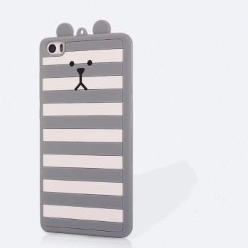 Силиконовый матовый непрозрачный дизайнерский фигурный чехол для Xiaomi Mi Note
