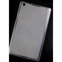 Силиконовый матовый полупрозрачный чехол для Lenovo Tab 3 8 Белый
