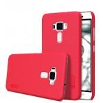 Пластиковый непрозрачный матовый нескользящий премиум чехол для Asus ZenFone 3 5.2