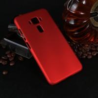 Пластиковый непрозрачный матовый чехол для Asus ZenFone 3 5.2 Красный