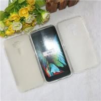 Силиконовый матовый полупрозрачный чехол для Asus ZenFone 3 5.2  Белый