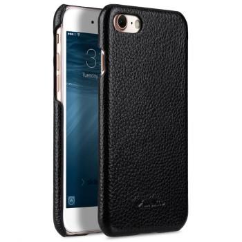 Кожаный чехол накладка для Iphone 7