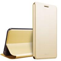 Чехол флип подставка Металлик на силиконовой основе для Huawei Honor 5A/Y5 II  Черный