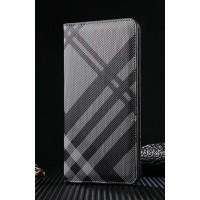 Чехол портмоне текстура Линии на пластиковой основе на магнитной защелке для Iphone 7 Plus  Серый