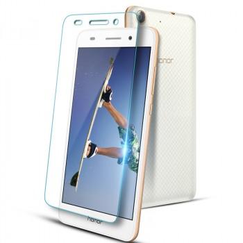 Ультратонкое износоустойчивое сколостойкое олеофобное защитное стекло-пленка для Huawei Y6II