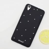 Силиконовый матовый непрозрачный дизайнерский фигурный чехол для Huawei Y6II  Черный