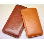 Кожаный вощеный мешок для Iphone 7 Plus