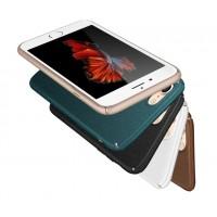 Пластиковый непрозрачный матовый чехол с повышенной шероховатостью для Iphone 7 Plus