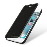 Кожаный чехол горизонтальная книжка (премиум нат. кожа) для Iphone 7 Plus
