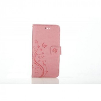 Чехол портмоне подставка текстура Узоры на силиконовой основе на магнитной защелке для Iphone 7