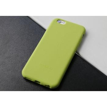 Силиконовый матовый непрозрачный нескользящий премиум софт-тач чехол для Iphone 7