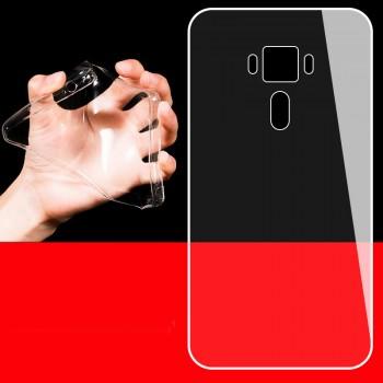 Силиконовый матовый транспарентный чехол для Asus ZenFone 3 5.2
