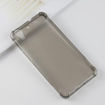 Силиконовый матовый полупрозрачный чехол с усиленными углами для Huawei Y6II