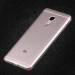 Силиконовый глянцевый транспарентный чехол для Xiaomi RedMi Note 4