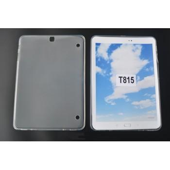 Силиконовый матовый полупрозрачный чехол для Samsung Galaxy Tab S2 9.7