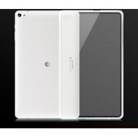 Силиконовый матовый полупрозрачный чехол для Huawei MediaPad T2 10.0 Pro Белый