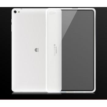 Силиконовый матовый полупрозрачный чехол для Huawei MediaPad T2 10.0 Pro