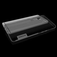 Силиконовый матовый полупрозрачный чехол с улучшенной защитой элементов корпуса (заглушки) для OnePlus 3  Серый