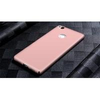 Пластиковый непрозрачный матовый чехол с улучшенной защитой элементов корпуса для ZTE Nubia Z11  Розовый