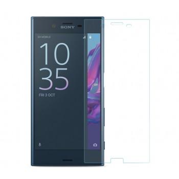 Ультратонкое износоустойчивое сколостойкое олеофобное защитное стекло-пленка для Sony Xperia XZ