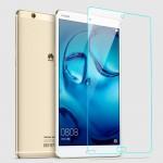 Ультратонкое износоустойчивое сколостойкое олеофобное защитное стекло-пленка для Huawei MediaPad M3
