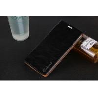 Вощеный чехол горизонтальная книжка подставка на пластиковой основе на присосках для Xiaomi RedMi Note 4