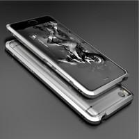 Металлический округлый бампер сборного типа на винтах для Xiaomi Mi5S Серый