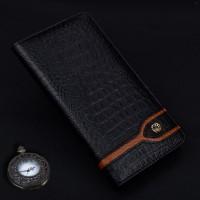 Кожаный чехол горизонтальная книжка (премиум нат. кожа крокодила) для Xiaomi Mi5S