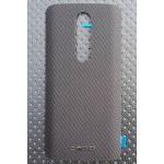 Оригинальный встраиваемый пластиковый непрозрачный матовый чехол с текстурным покрытием Металл для Lenovo Moto X Force