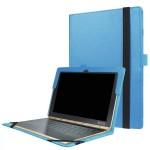 Чехол книжка с рамочной защитой экрана и крепежом для стилуса для Lenovo Yoga Book