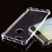 Силиконовый матовый полупрозрачный чехол с усиленными углами для Huawei Nova