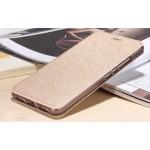Чехол горизонтальная книжка подставка текстура Золото на силиконовой основе для Huawei Nova