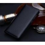 Кожаный чехол горизонтальная книжка подставка (премиум нат. кожа) для Huawei Nova