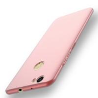 Пластиковый непрозрачный матовый чехол с защитой торцев для Huawei Nova Розовый