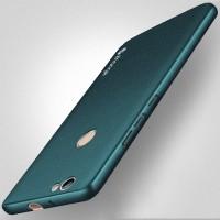 Пластиковый непрозрачный матовый чехол с повышенной шероховатостью для Huawei Nova  Зеленый