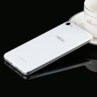 Силиконовый матовый транспарентный чехол для Meizu U10