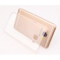 Силиконовый матовый транспарентный чехол для Samsung Galaxy J5 Prime