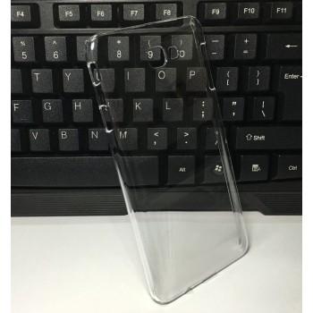 Пластиковый транспарентный чехол для Samsung Galaxy J5 Prime