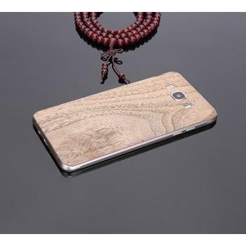 Экстратонкая клеевая натуральная деревянная накладка для Samsung Galaxy J7