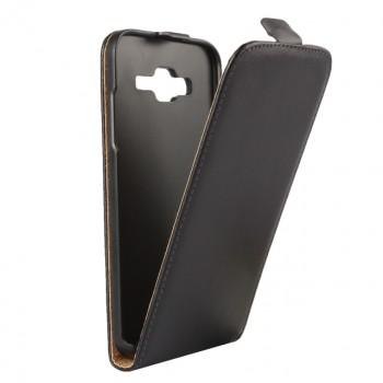 Чехол вертикальная книжка на пластиковой основе на магнитной защелке для Samsung Galaxy J7