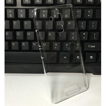 Пластиковый транспарентный чехол для Asus ZenFone 3 Max