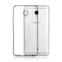 Силиконовый матовый транспарентный чехол для Meizu M3E