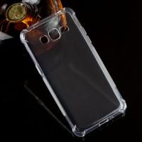 Силиконовый матовый транспарентный чехол с усиленными углами для Samsung Galaxy J2 Prime